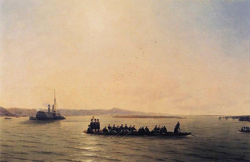 File:Ivan Constantinovich Aivazovsky - Alexander II Crossing the Danube.JPG