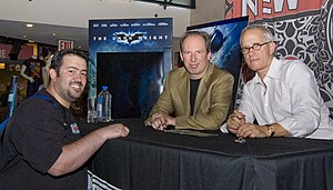 James Newton Howard and Hans Zimmer at the The...