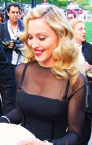 Madonna, the original Material Girl, shows up ...