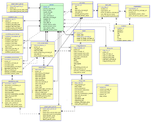 hospital database design diagram minecraft circle health informatics wikipedia integrated data repository edit example idr schema