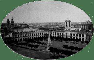 Plaza de la Victoria (actual Plaza de Mayo), B...
