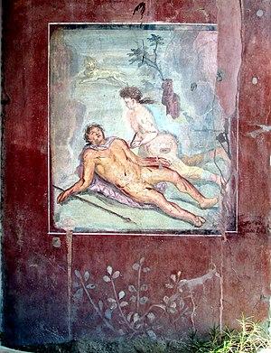 English: Pyramus and Thisbe, House of Loreius ...
