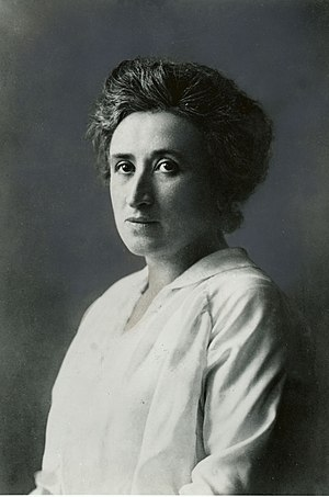 Portrait of Rosa Luxemburg. Français : Portrai...