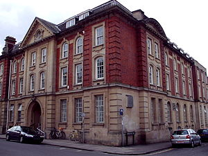 Ruskin College, Oxford, England