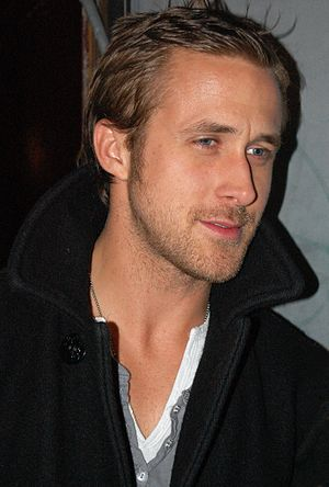 Ryan Gosling outside a concert for his band De...