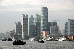 Italiano: Città di Shanghai in Cina. Fonte en....