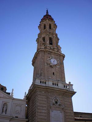 Tower of La Seo, Zaragoza