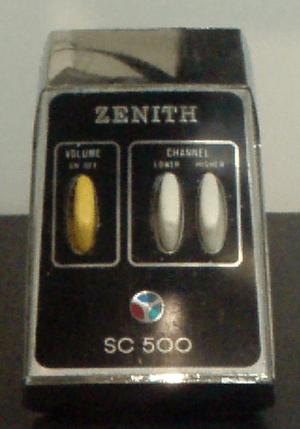 English: Zenith SC500 Space Command TV remote ...