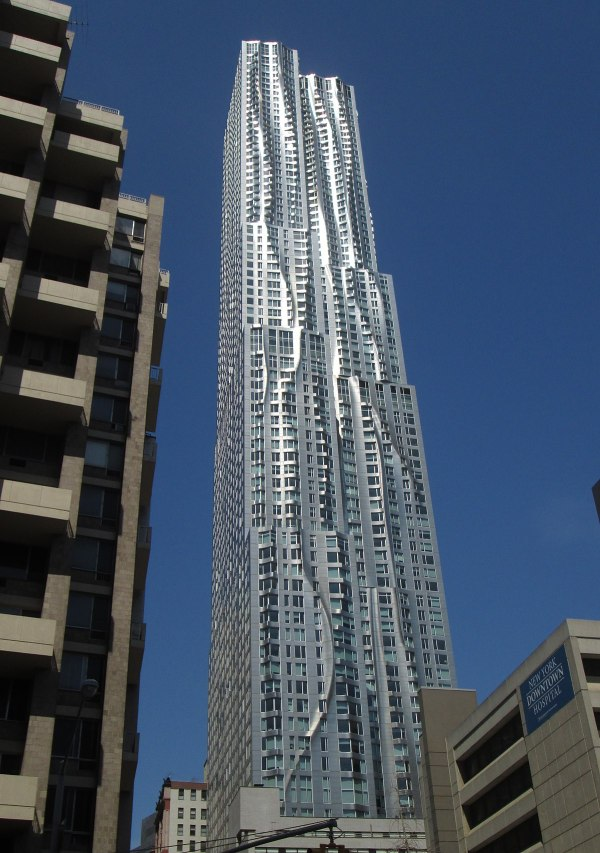 Frank Gehry 8 Spruce Street New York