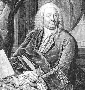 Abraham Vater (1684–1751) German physician and...