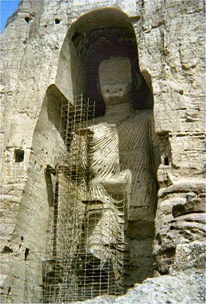 Buddhas of Bamiyan - Statue of Buddha (1976)