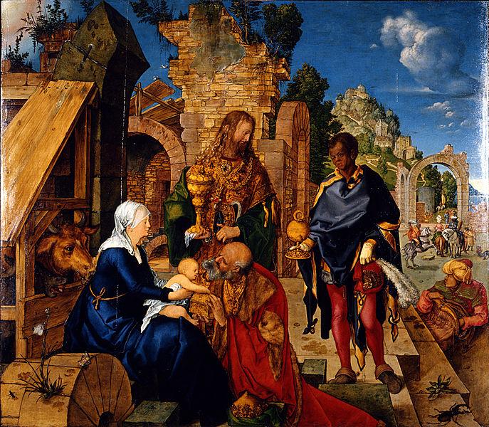 File:Albrecht Dürer - Adorazione dei Magi - Google Art Project.jpg