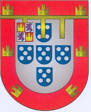 English: Coat of Arms of Infante Louis, 5th Du...