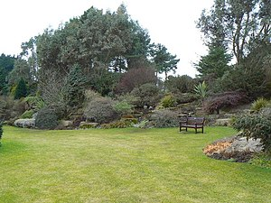 English: Barnhill Rock Garden These gardens we...