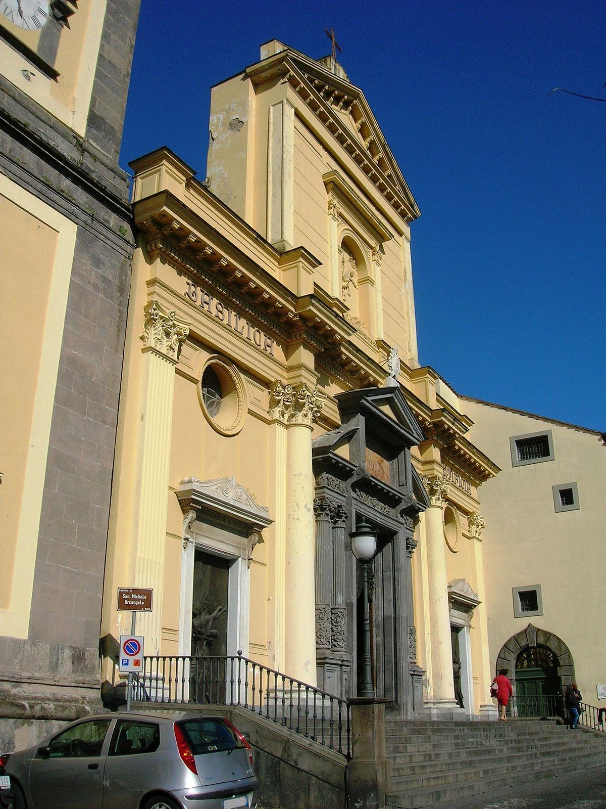Basilica di San Michele Arcangelo Piano di Sorrento  Wikipedia