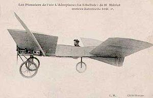 Bleriot VI in contemporary postcard, circa 1907.
