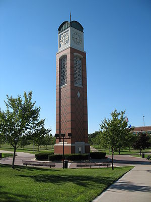 The Cook Carillon Tower, Grand Valley State Un...