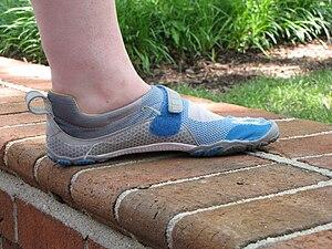 English: Vibram FiveFingers Bikila shoes, inne...