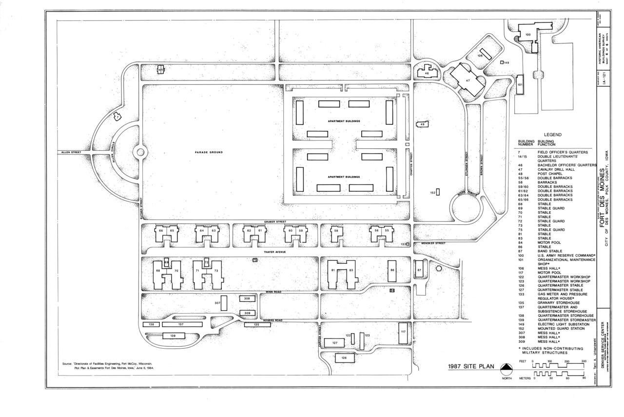 File Fort Des Moines Historic Complex Des Moines Polk County Ia Habs Iowa 77 Desmo 24 Sheet