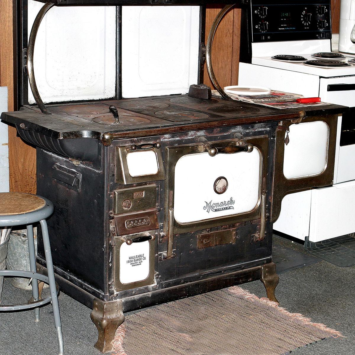 Kitchen stove  Wikipedia