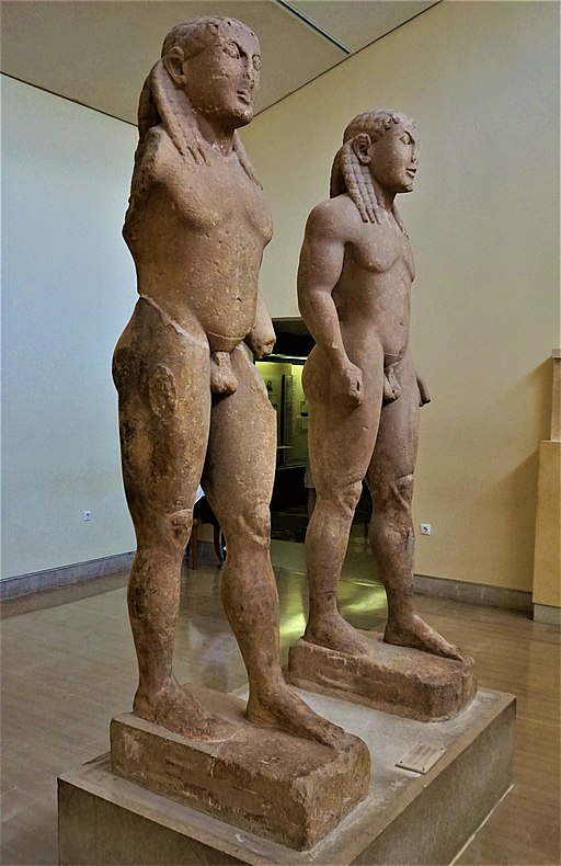 Kleobis and Biton - Delphi Archaeological Museum by Joy of Museums - 3