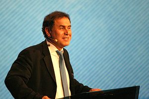 English: Nouriel Roubini, Turkish economist, p...
