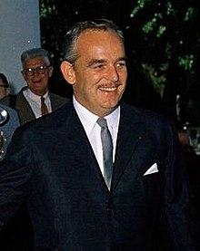 Le prince Rainier III en 1961.