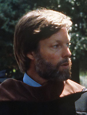 American actor Richard Chamberlain, cropped fr...