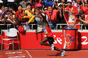 Samuel Wanjiru, Athletics at the 2008 Summer O...