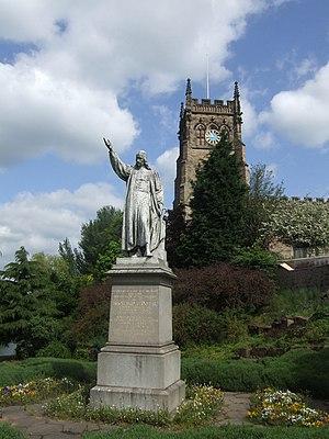 English: St Mary & All Angels Church Richard B...