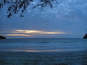 Sunset at Pangkor Island.