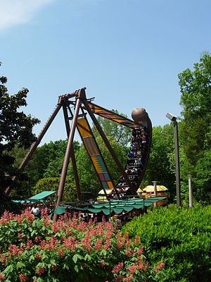 Busch Gardens Europe, Williamsburg Roller coas...