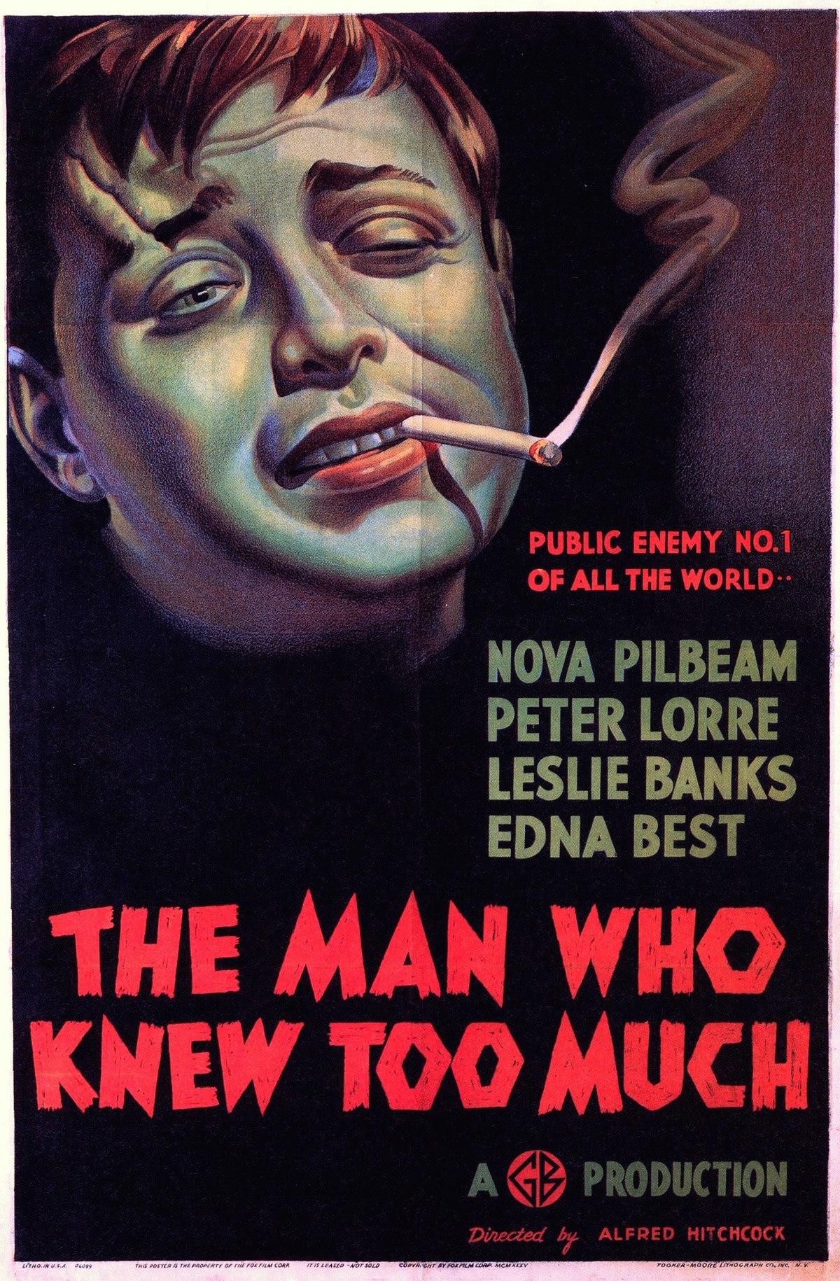 L'homme Qui En Savait Trop : l'homme, savait, L'Homme, Savait, (film,, 1934), Wikipédia