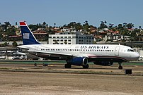US Airways/America West Airlines A320-231 at S...