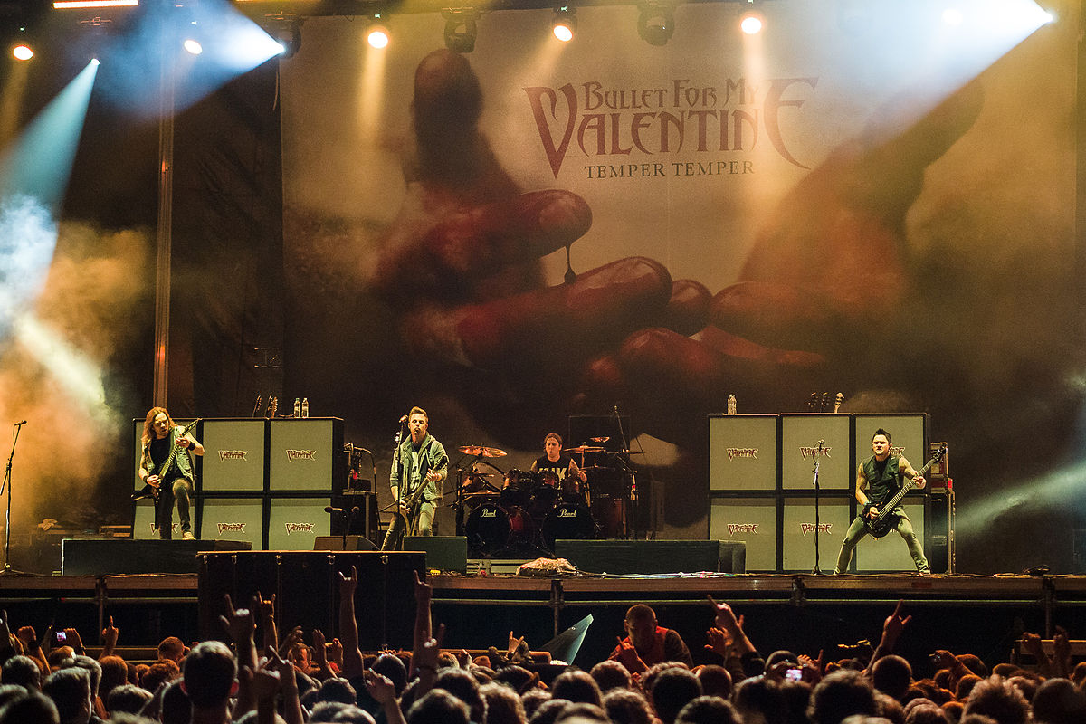 Hd Nirvana Wallpaper Bullet For My Valentine Wikipedia