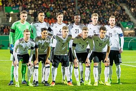 U Nationalmannschaft Vor Dem Spiel Gegen England Im Marz