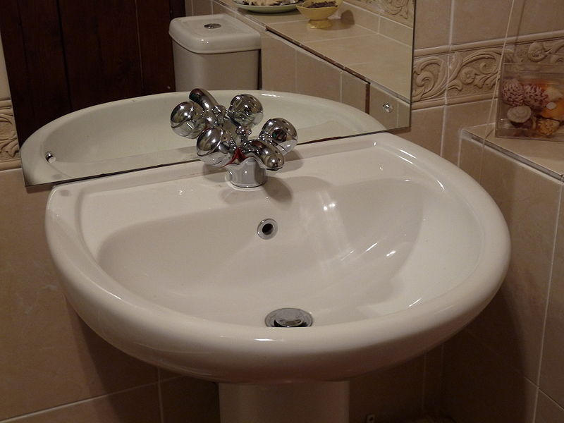 File:Bathroom sink.jpg