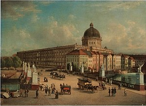 Berlin (Berlin-Mitte), Stadtschloss after 1853