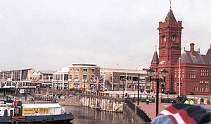 English: Cardiff Bay Development.