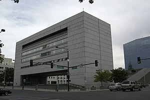 English: Colorado state judicial building in D...