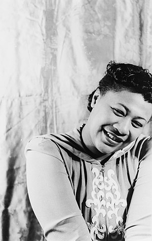 Portrait of Ella Fitzgerald