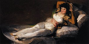 Francisco de Goya y Lucientes - The Clothed Ma...
