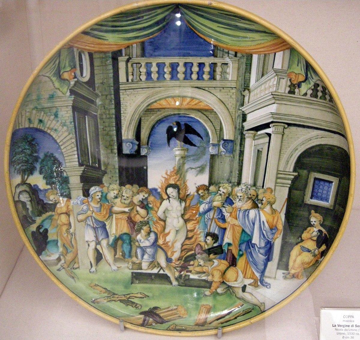 Ceramica di Urbino  Wikipedia