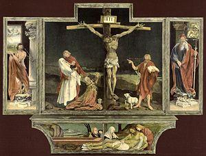 Isenheim altarpiece - first view.