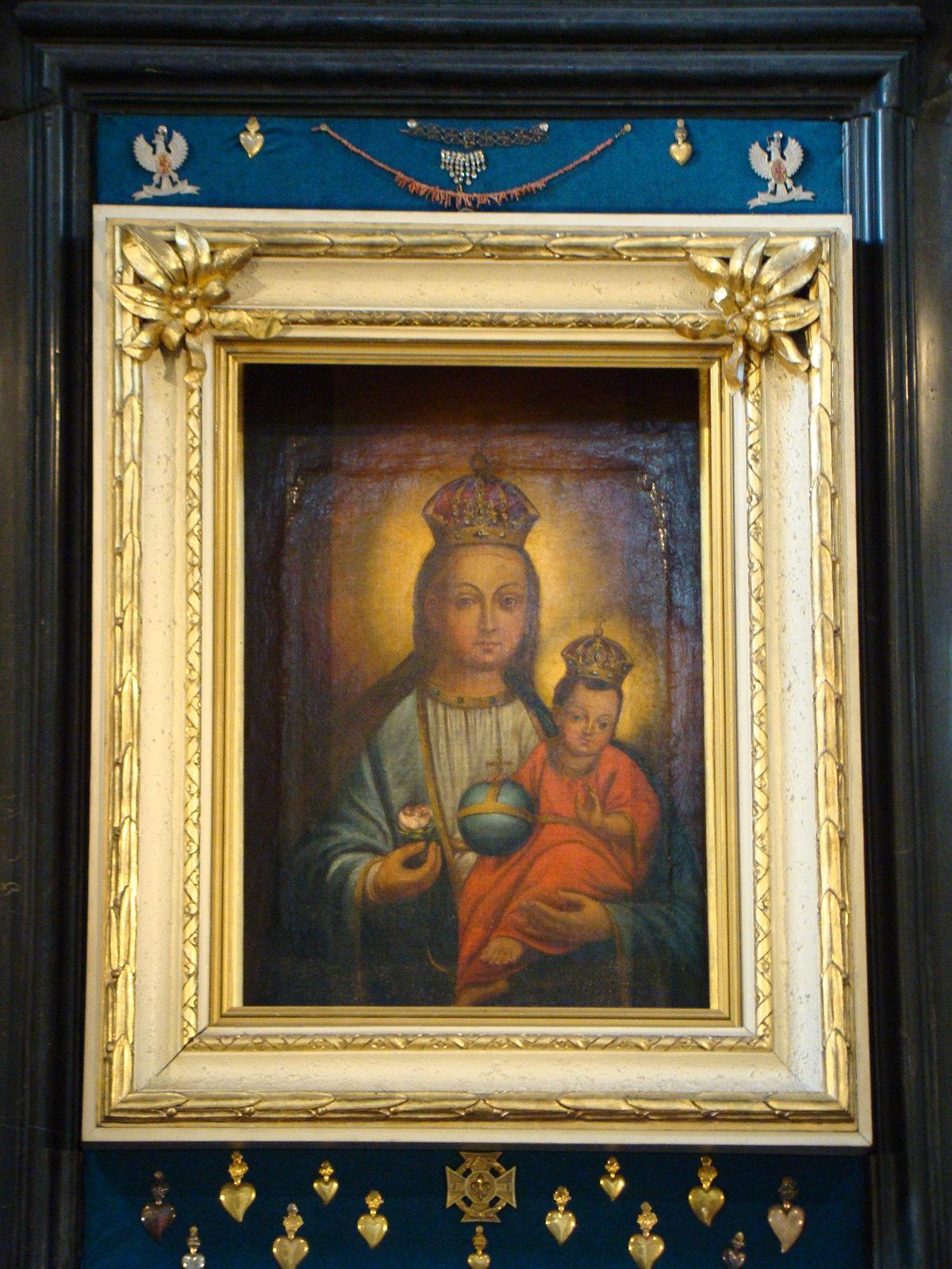Obraz Matki Boskiej Czortkowskiej Wikipedia Wolna