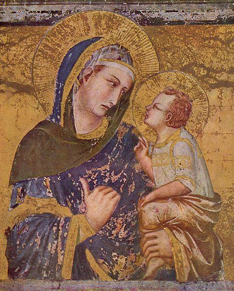 Pietro Lorenzetti, Madonna o zachodzie słońca