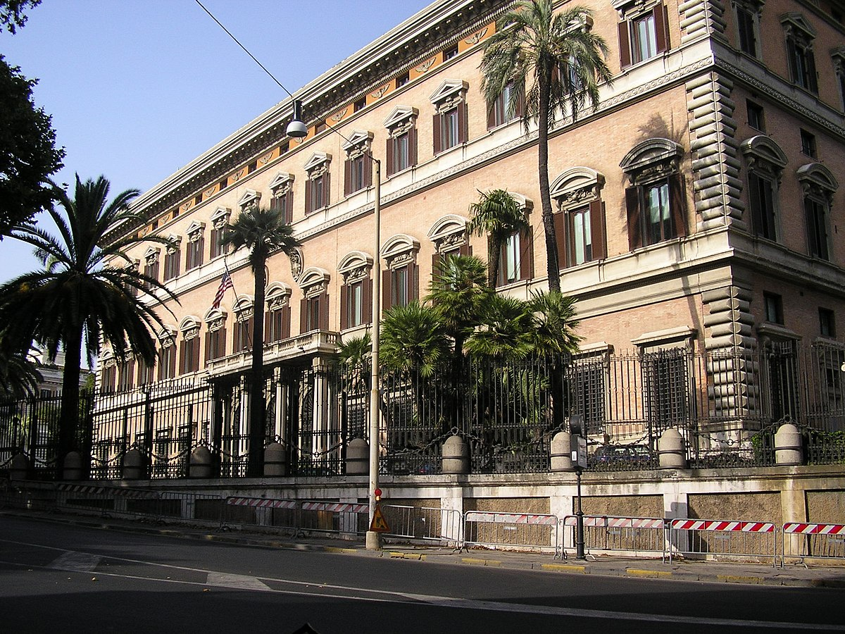 Embassy of the United States Rome  Wikipedia