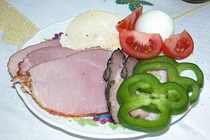 Slovak easter food