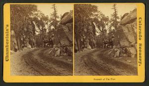 Summit of Ute Pass, by Chamberlain, W. G. (Wil...