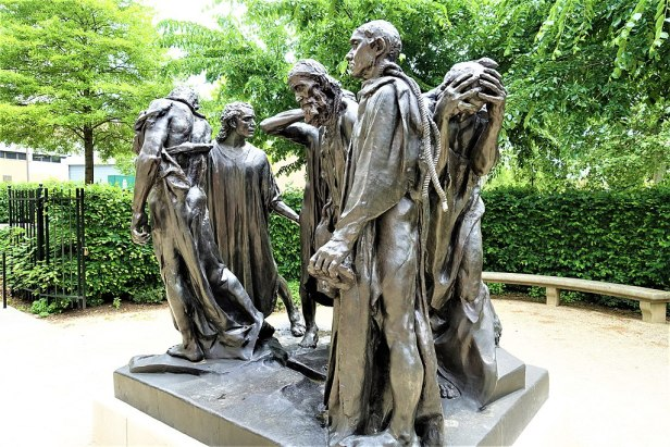 The Burghers of Calais - www.joyofmuseums.com - Rodin Museum, Philadelphia